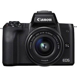 Canon EOS M50 Mirrorless Camera With EF-M 15-45mm IS STM Lens - Black Thumbnail Image 10